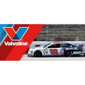 Valvoline NASCAR Ticket Website Banner