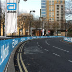 Abbott Branding Along London Marathon