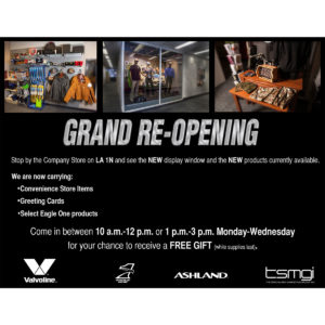 New Company Store Mailer