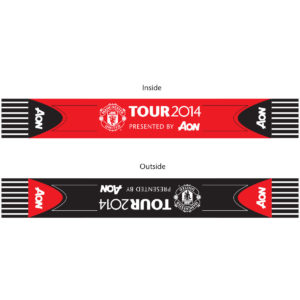 Promotional handouts for Manchester United F.C. 2014 Tour
